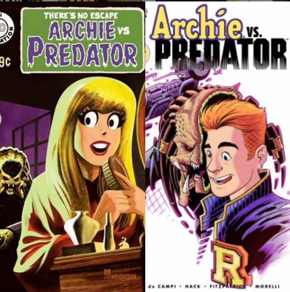 Archie vs Predator 2 issue 1.JPG