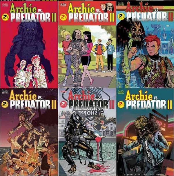 Archie vs Predator 2 issue 2.JPG