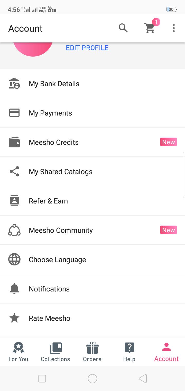 MobileScreenshot Account Setup