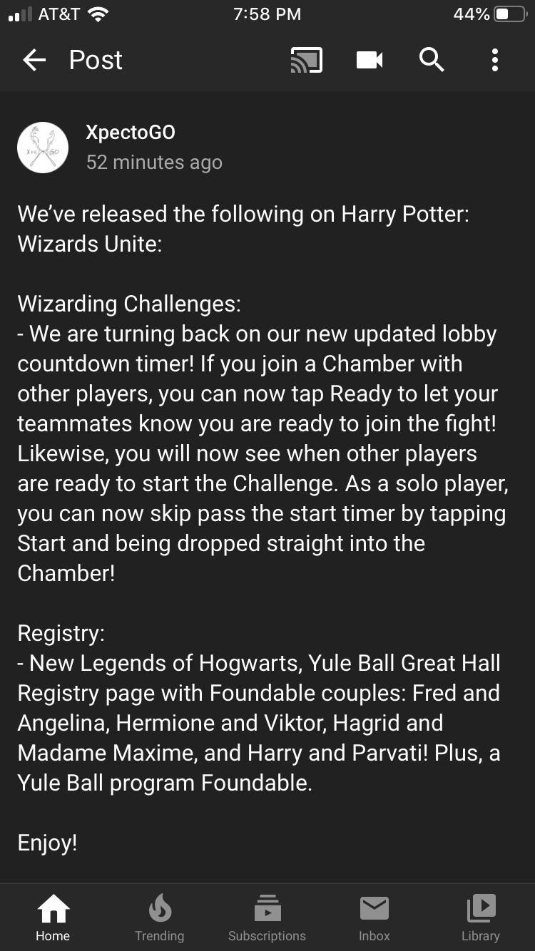 community.harrypotterwizardsunite.com