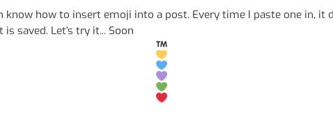 [screenshot of some emoji in a vertical column]