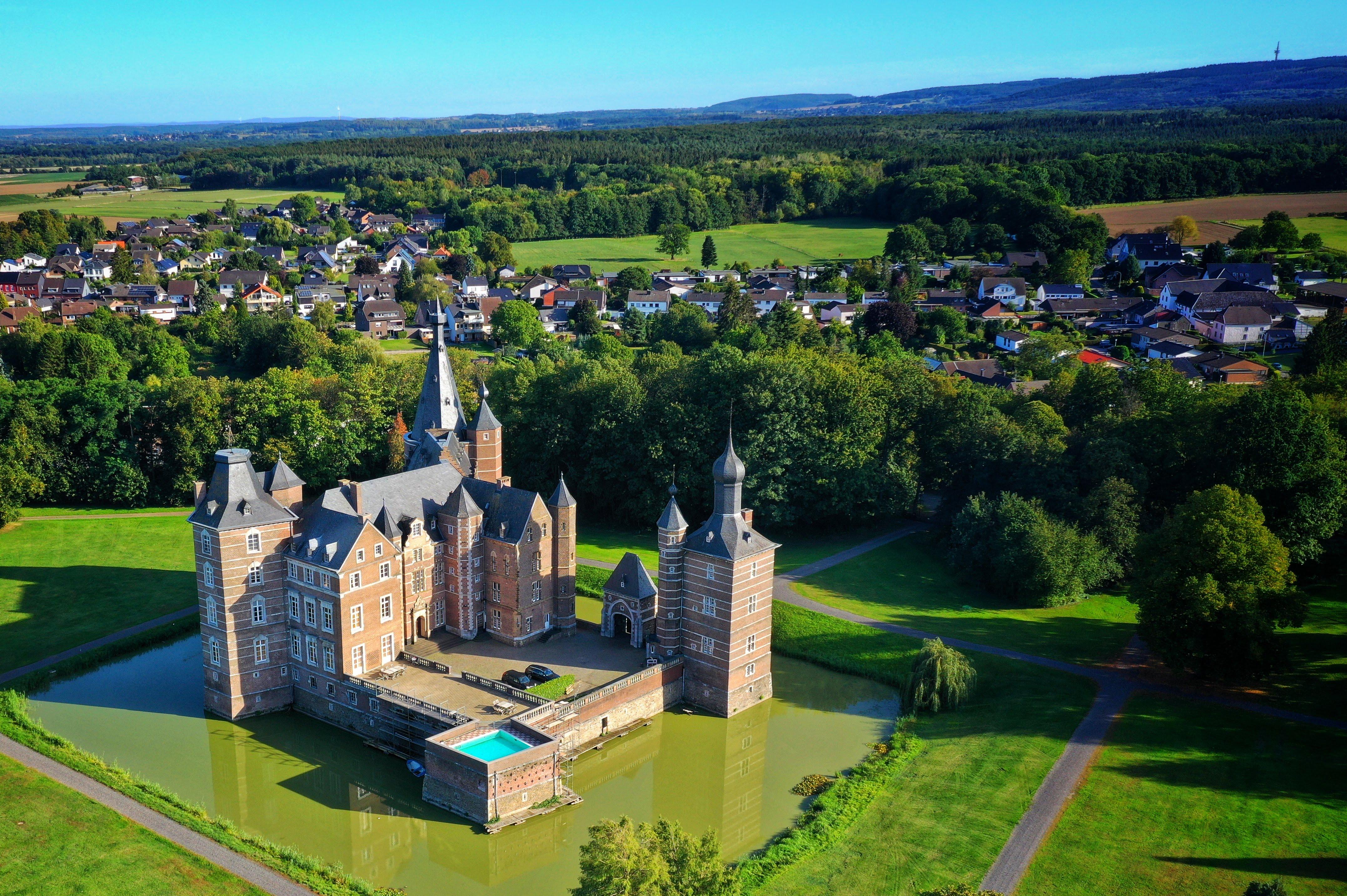 Castle Merode by drone