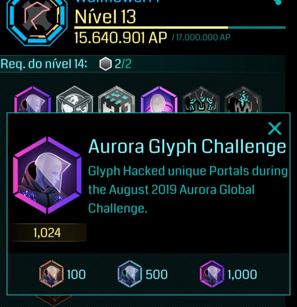 Aurora Glyph Challenge may be my favorite event yet — Ingress