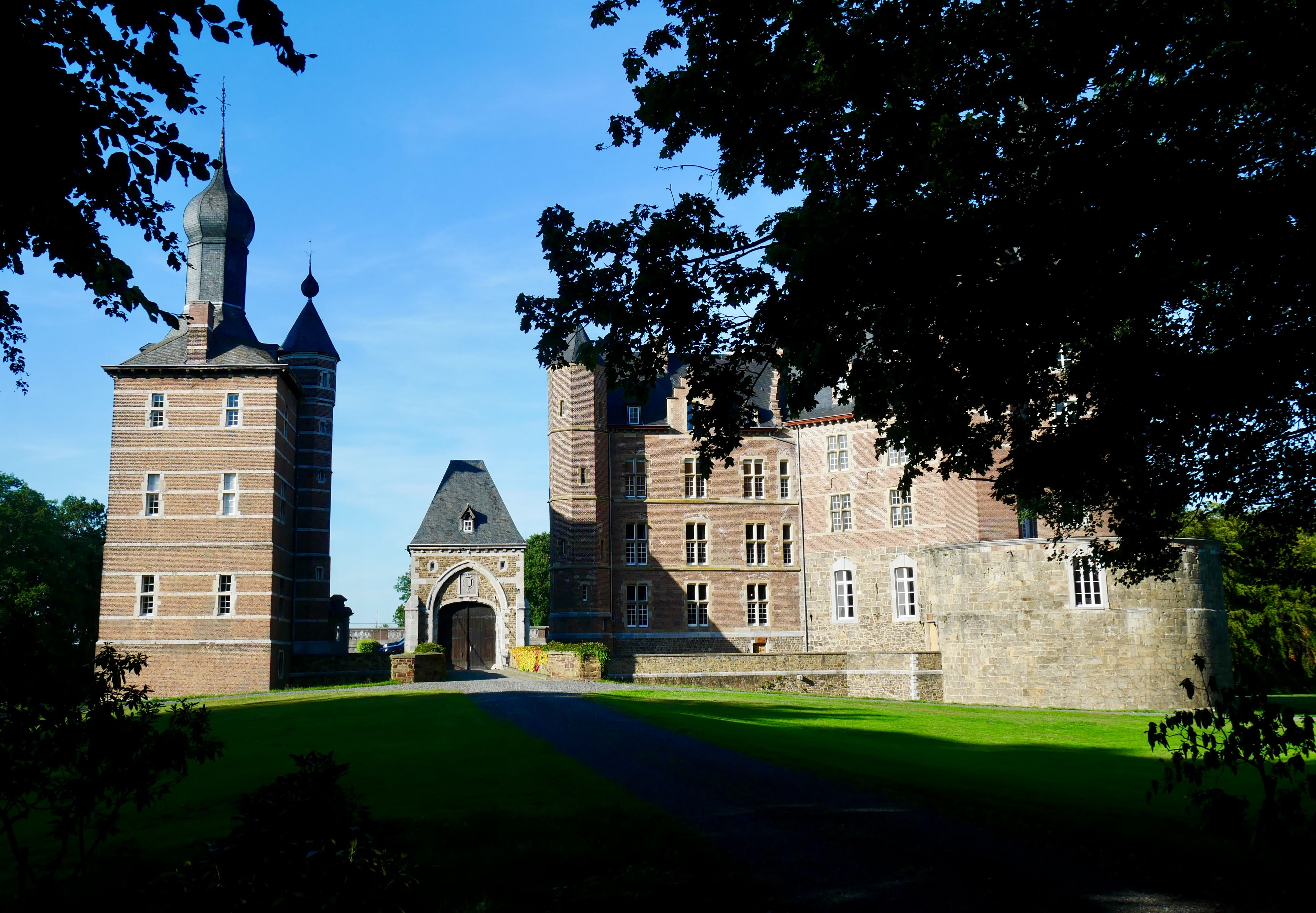 Groundview of castle merode