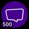 ¡500 comentarios!