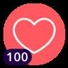 ¡100 Me encanta!