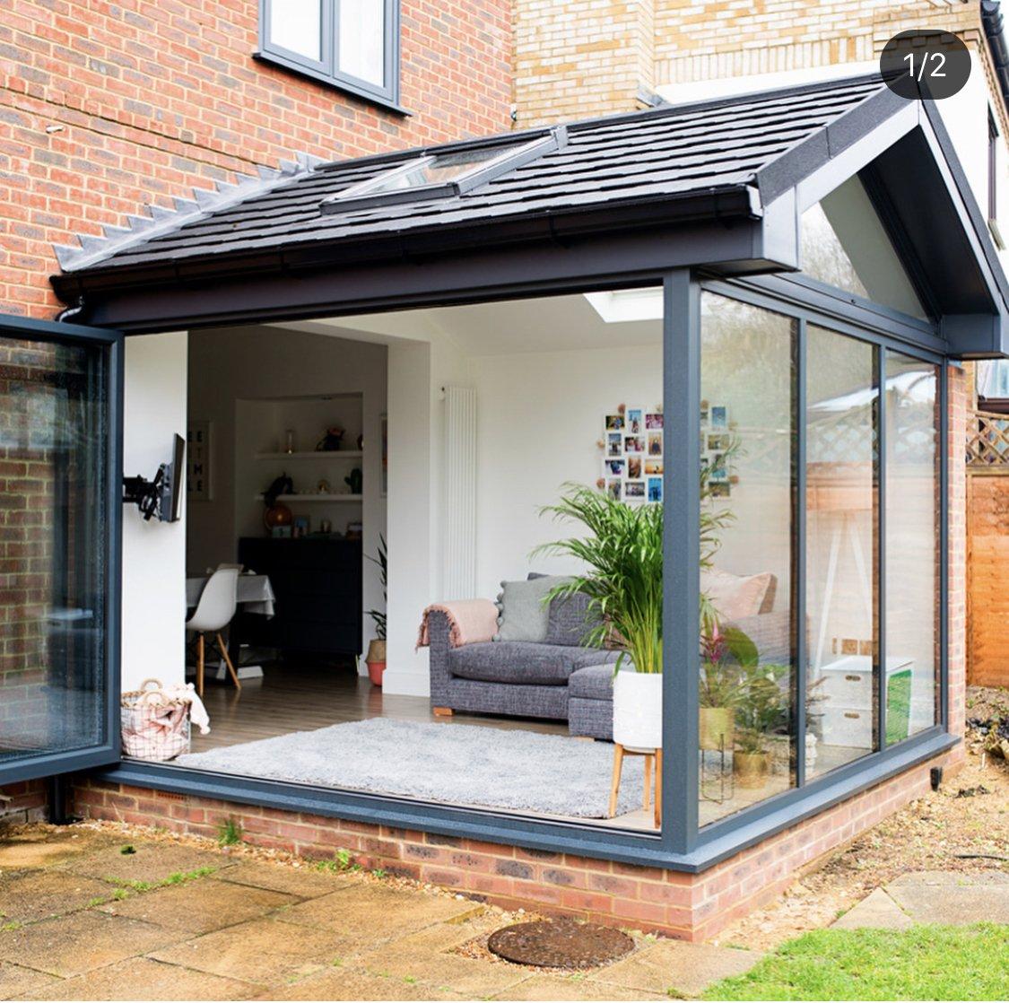modern warm roof conservatory feedback please ...