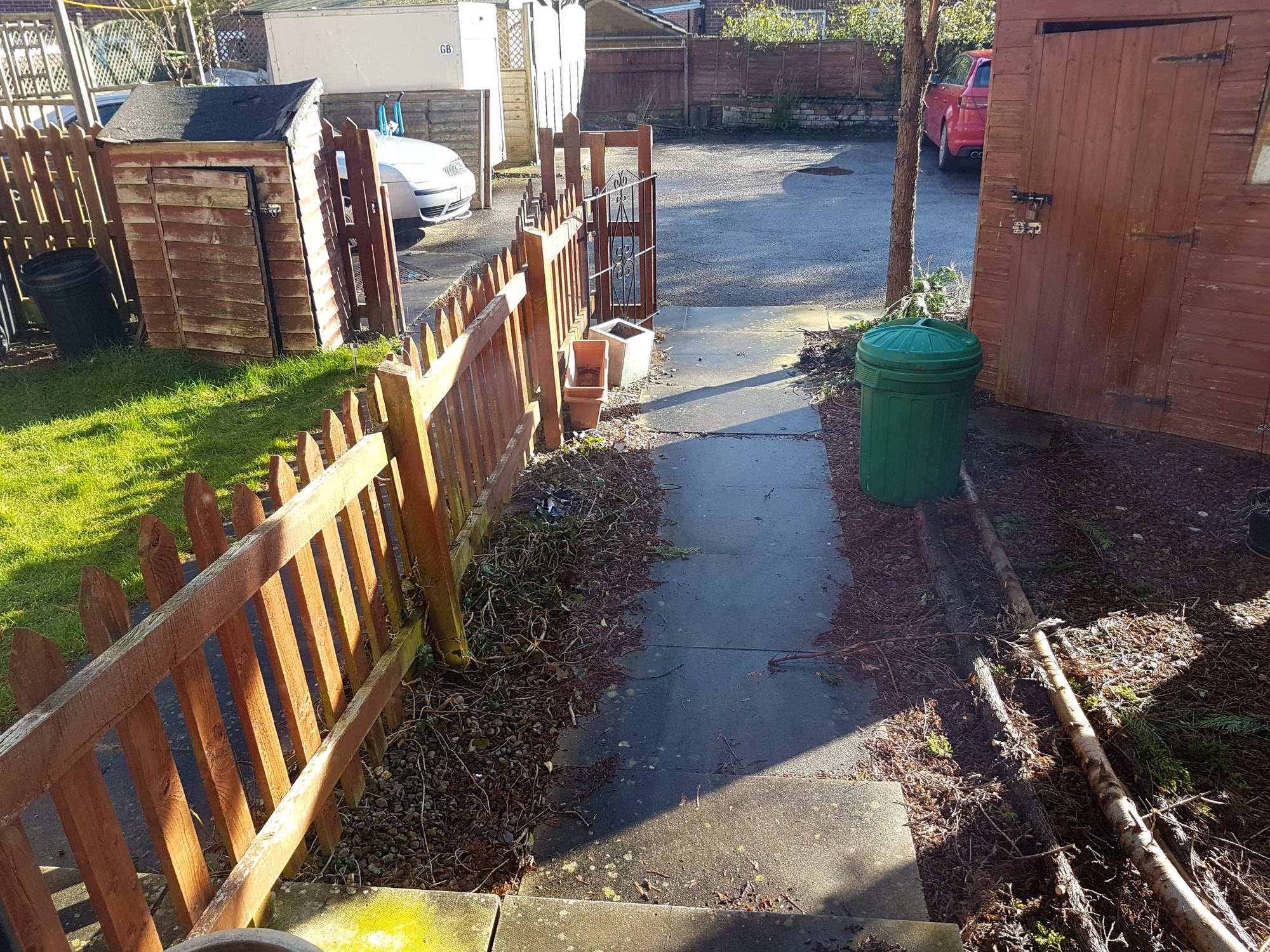 Will a 6 foot fence all around block out the sunlight in ...