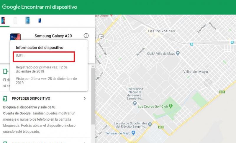 Denuncia De Celular Robado Imei Tuenti Argentina