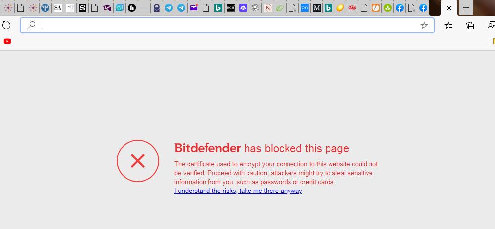 Bitdefender blocked blank new tab.PNG