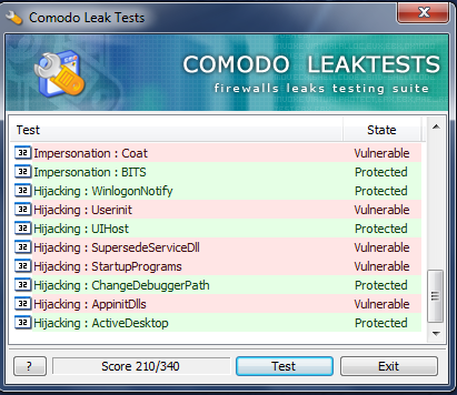 comodo-F-secure test.png