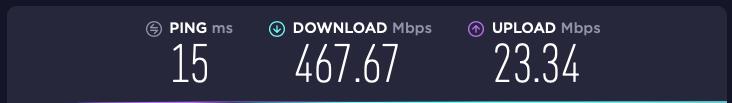 Blazing fast Wi-Fi