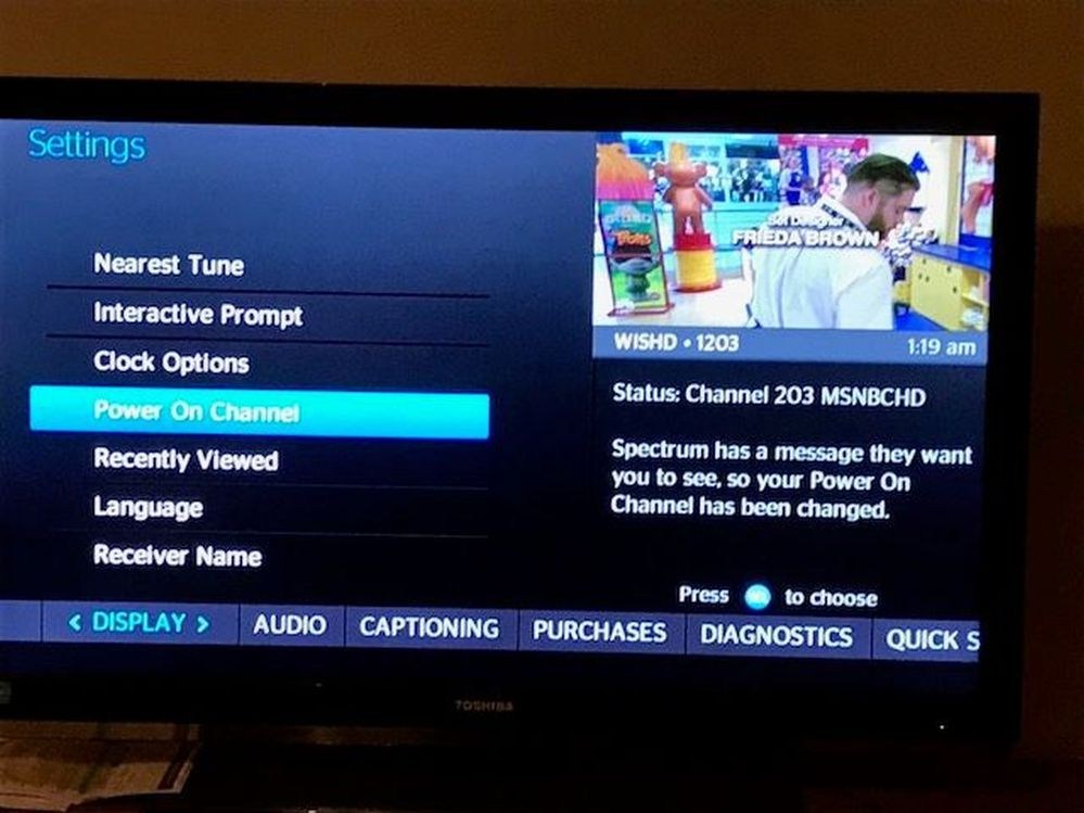 Customer Message From Spectrum (Changing Power on Channel.).jpg