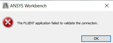 Fluent Application Failed to Validate Connection.jpeg