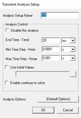 External Circuit Simulation Time