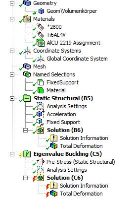 StaticStructuralSettingsOverview