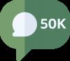 50000 Comments