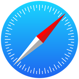 Safari Icon of Flat style - Available in SVG, PNG, EPS, AI & Icon fonts