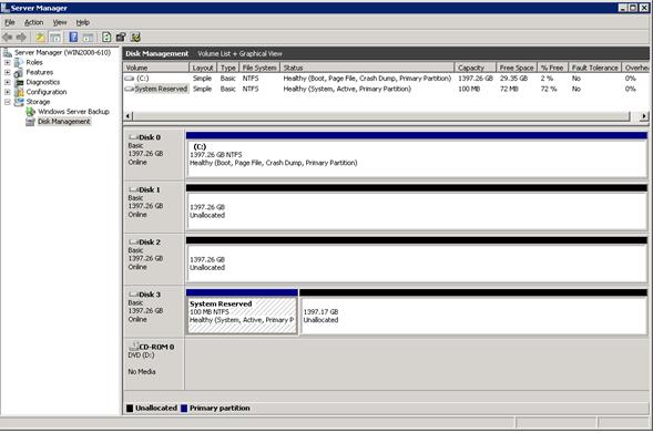 BootMGR on disk 3