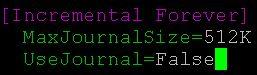 Master.ini UseJournal