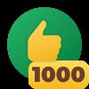 1,000 Likes