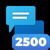 2,500 Comments