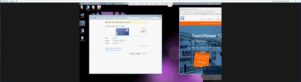 Team Viewer - cannot do what Remote Desktop does... but it needs to!!