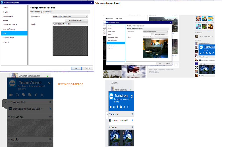 Creator issues on HP, not the tower, Not Teamviewer