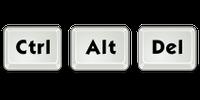 Ctrl + Alt + Del (for Windows)
