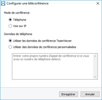 Configurer une téléconférence