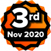3rd Place Contest Winner - Nov 2020 Coolest Course