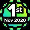 1st Place Contest Winner - Nov 2020 ILT to Online