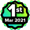 1st Place Contest Winner - March 2021 Coolest VR Course