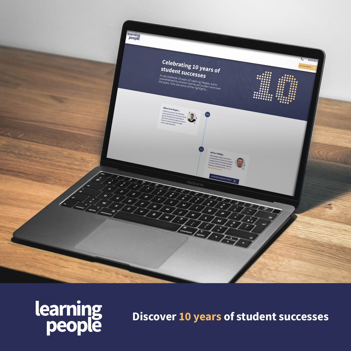 Discover 10 years of student success